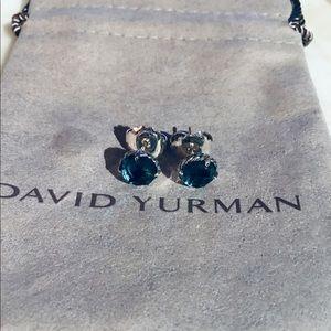 David Yurman Chatelaine Topaz Earrings